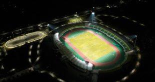 giải pháp chiếu sáng sân vận động
