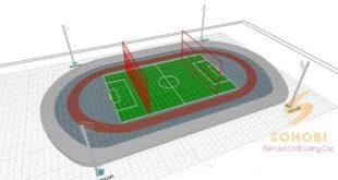 tiêu chuẩn chiếu sáng sân vận động của AFC