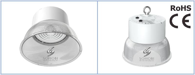 Hình ảnh một mẫu đèn led nhà xưởng 50W SHB18